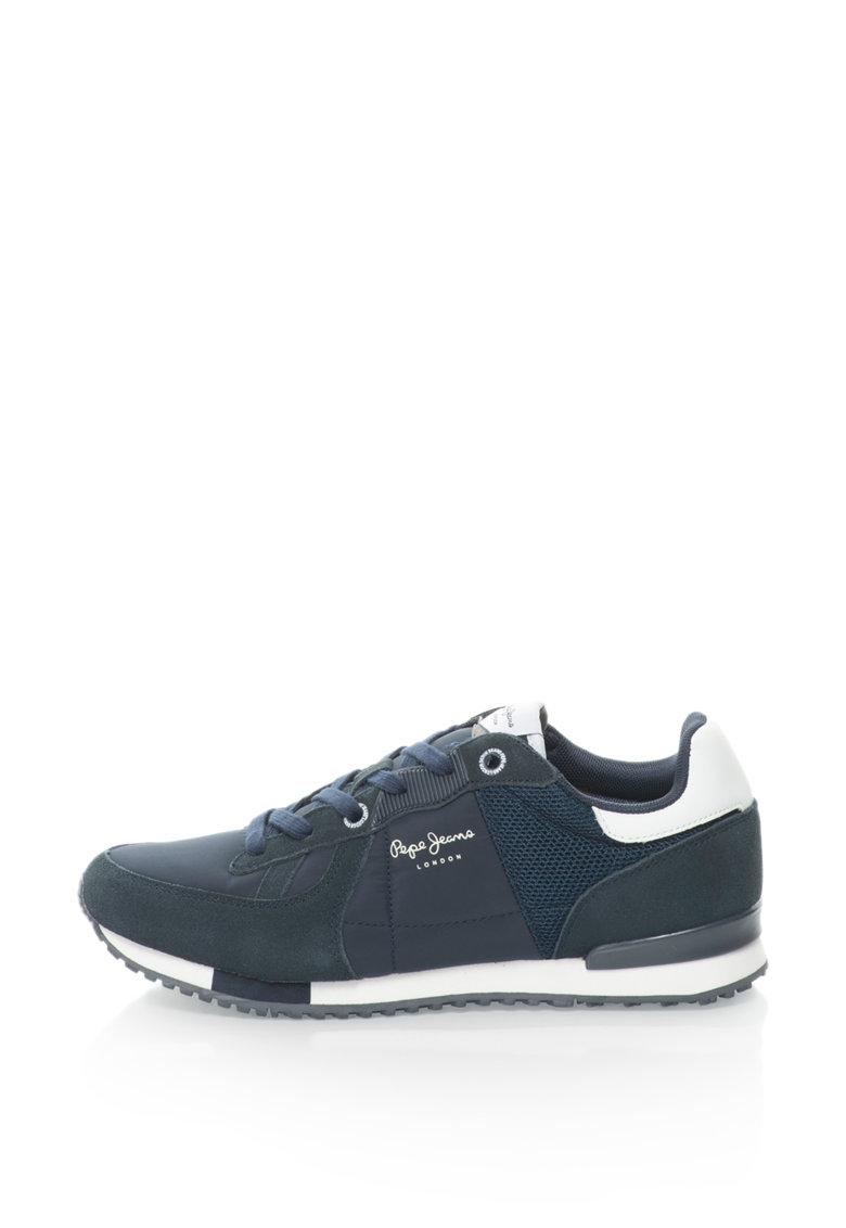 Pepe Jeans Pantofi sport cu garnituri de piele intoarsa Tinker Bold