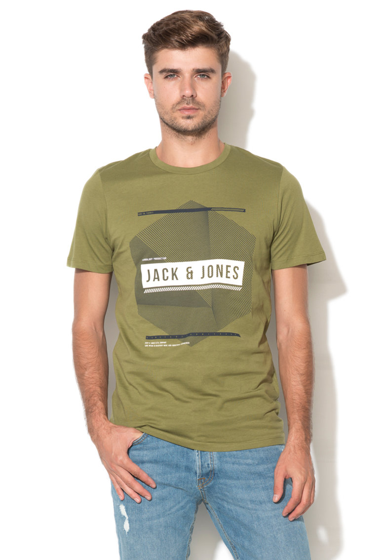 JackJones Tricou cu imprimeu logo Bridge