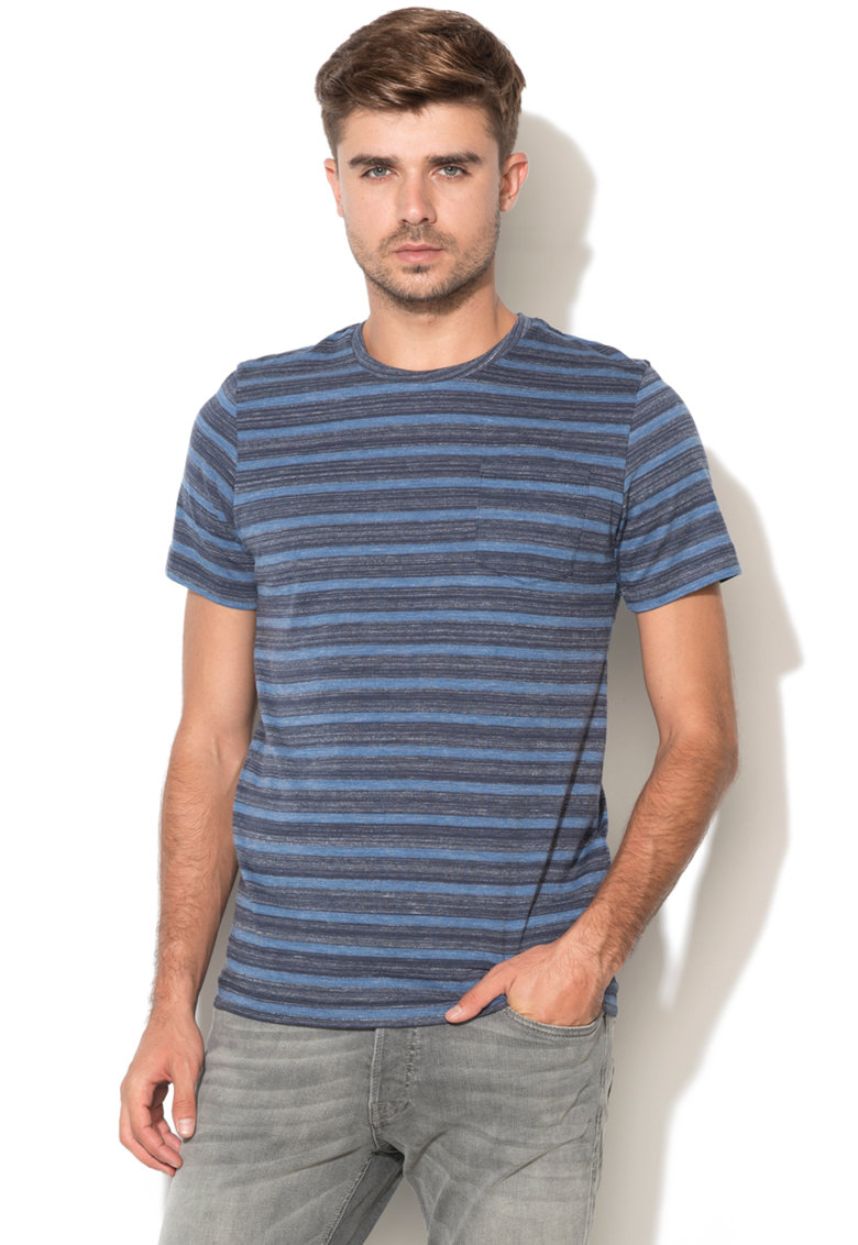 Tricou slim fit in dungi Anthony