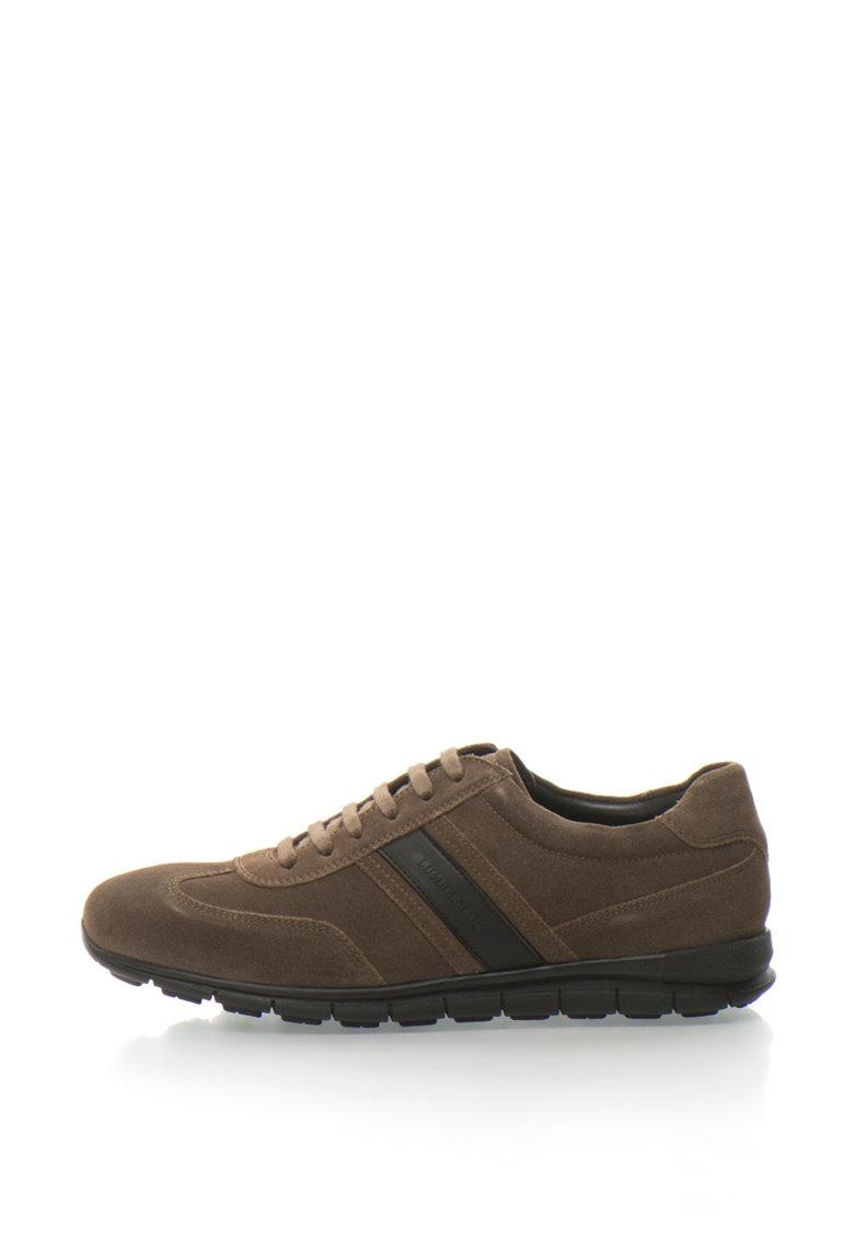 Pantofi de piele intoarsa Parker de la Lumberjack