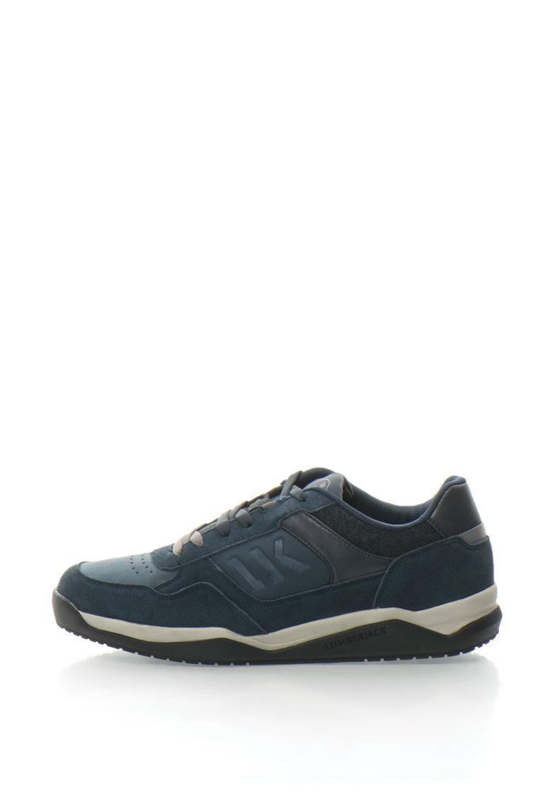 Pantofi sport cu insertii de piele intoarsa Spin de la Lumberjack