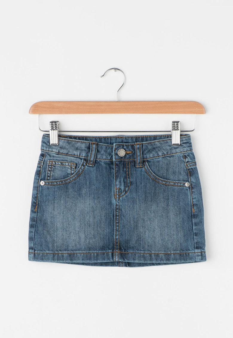United Colors Of Benetton Fusta mini din denim