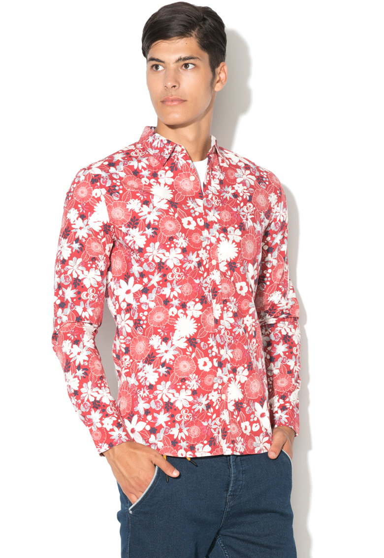 Pepe Jeans London Camasa cu model floral Pina