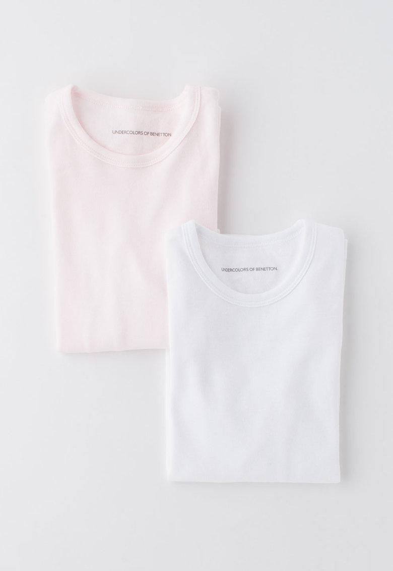 Set de bluze de casa – 2 piese de la Undercolors of Benetton