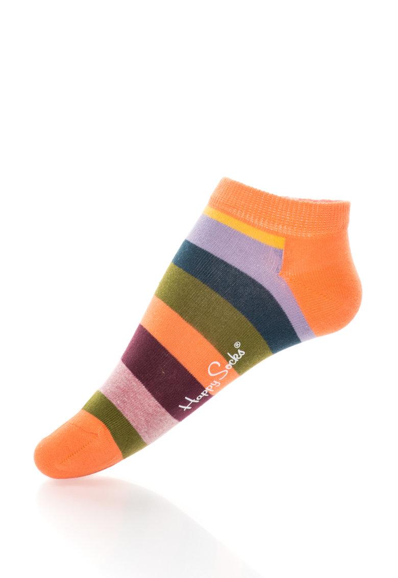 Happy Socks Sosete scurte cu dungi unisex