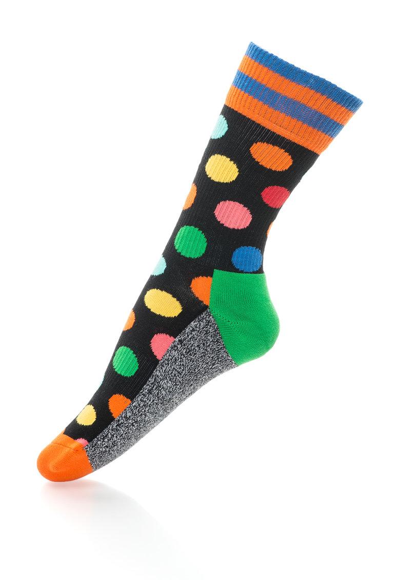 Happy Socks Sosete 3/4 unisex cu imprimeuri diverse