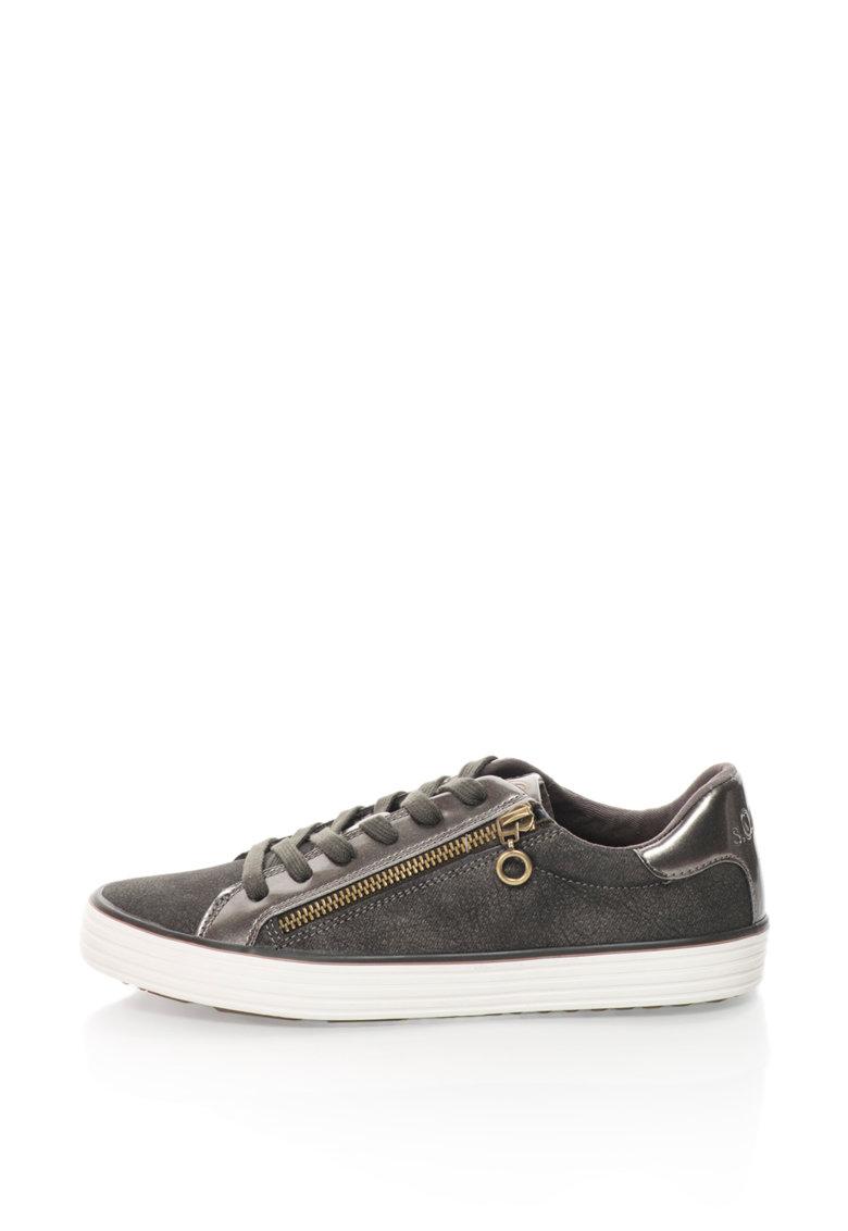 SOliver Pantofi sport cu fermoare laterale