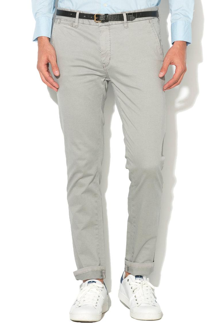 Pantaloni chino slim f