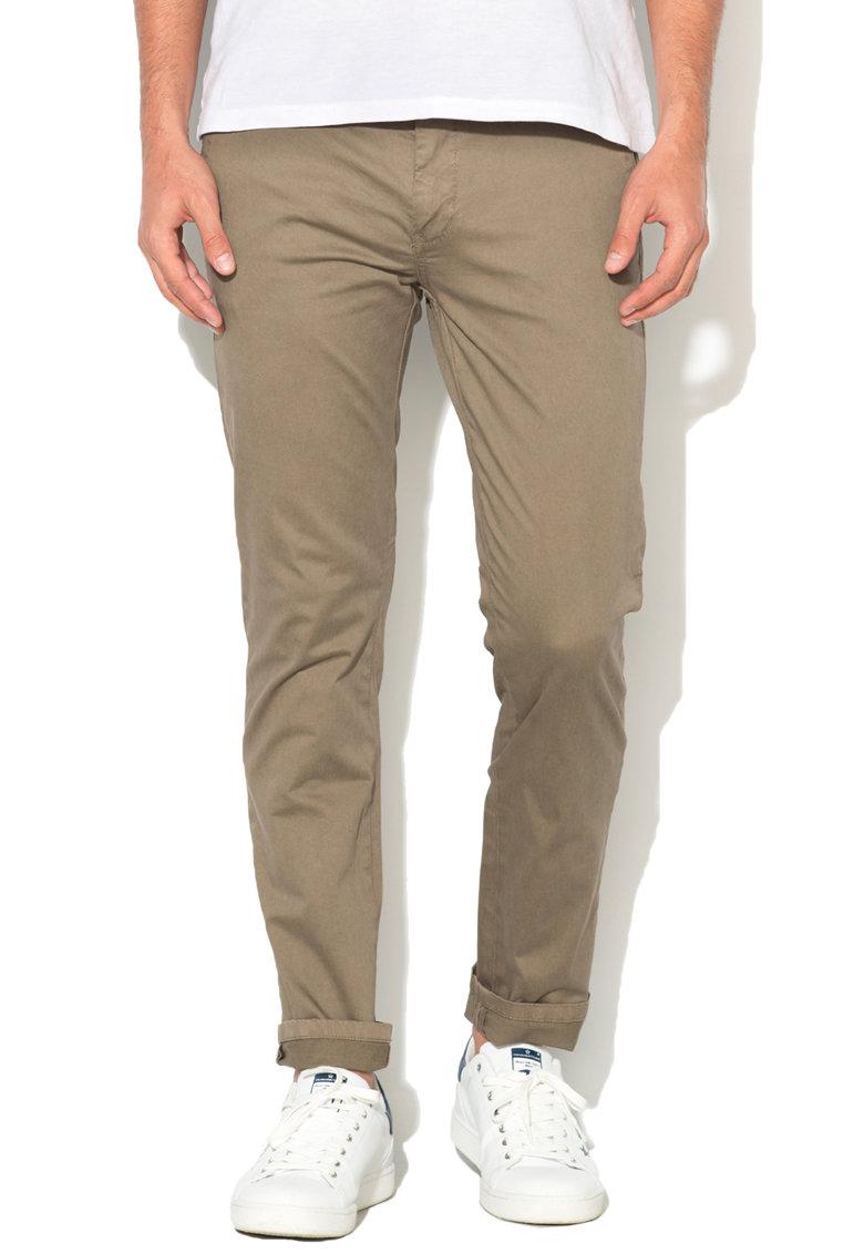 Pantaloni chino slim f de la Alcott