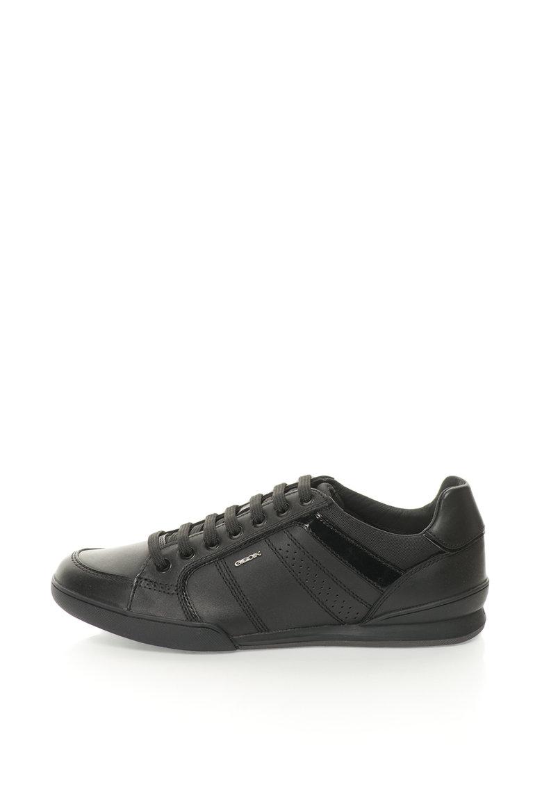 Geox Pantofi sport cu garnituri de piele Kristof