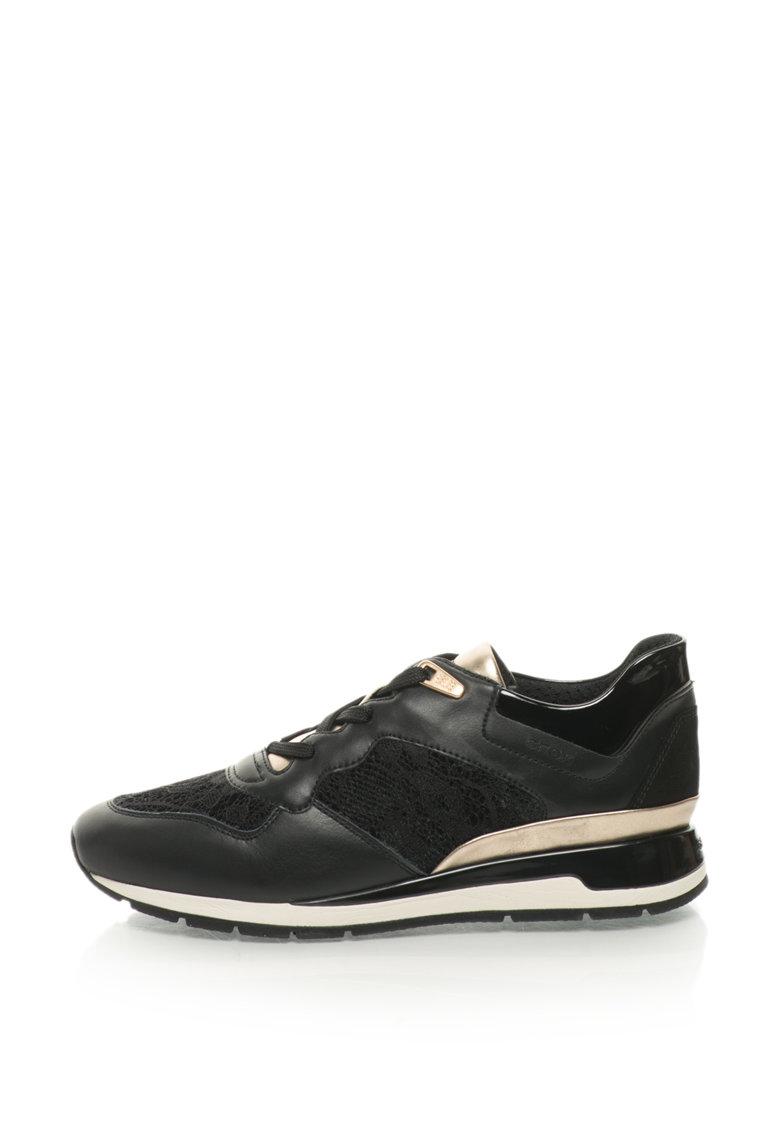 Geox Pantofi sport cu garnituri de dantela Shahira