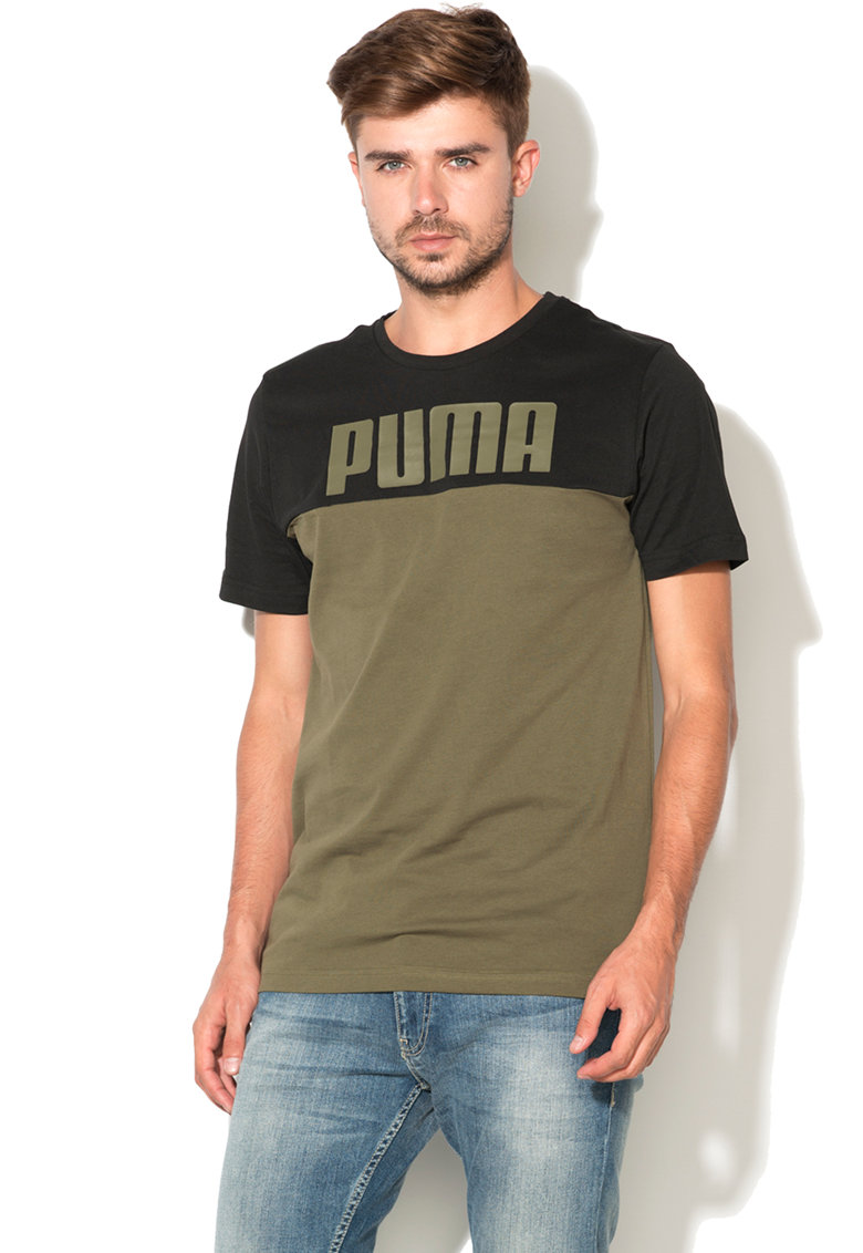 Puma Tricou sport regular fit cu logo Rebel