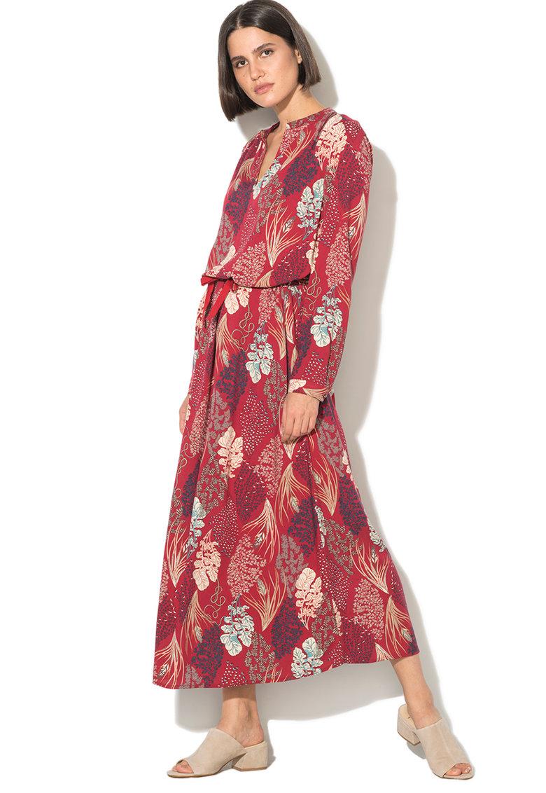 United Colors of Benetton Rochie maxi cu imprimeu floral