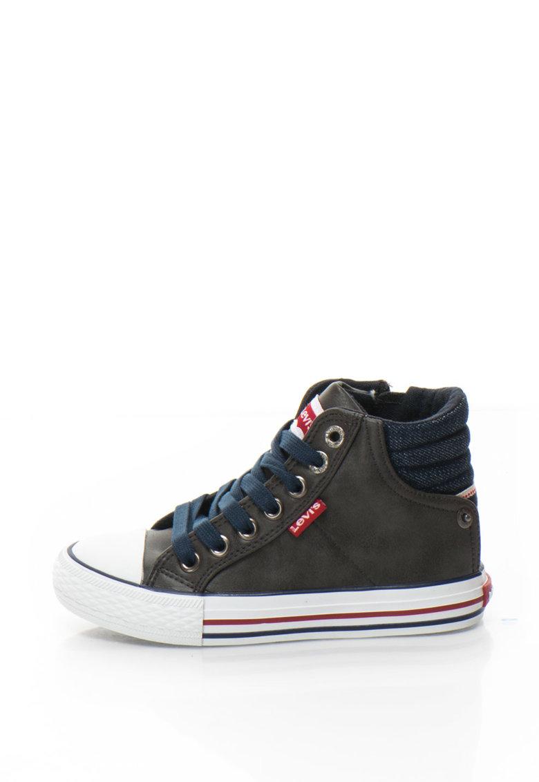 Levis Pantofi sport inalti cu insertii din denim New York