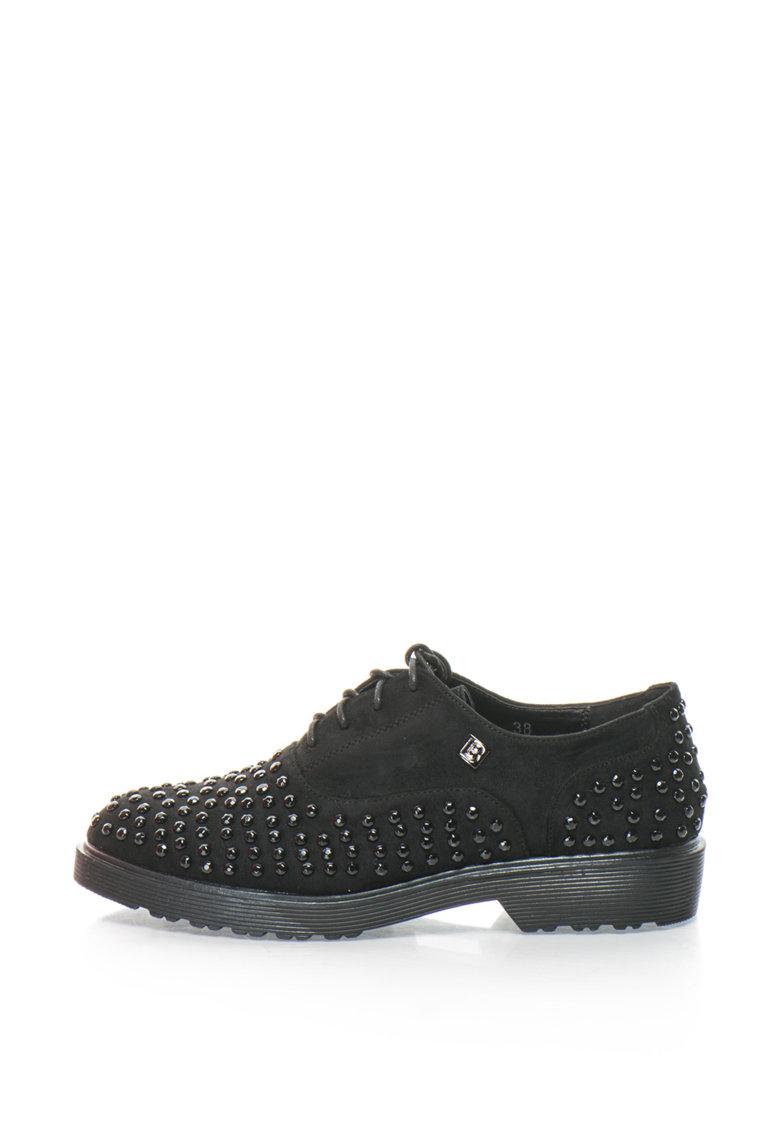Laura Biagiotti Pantofi casual cu strasuri