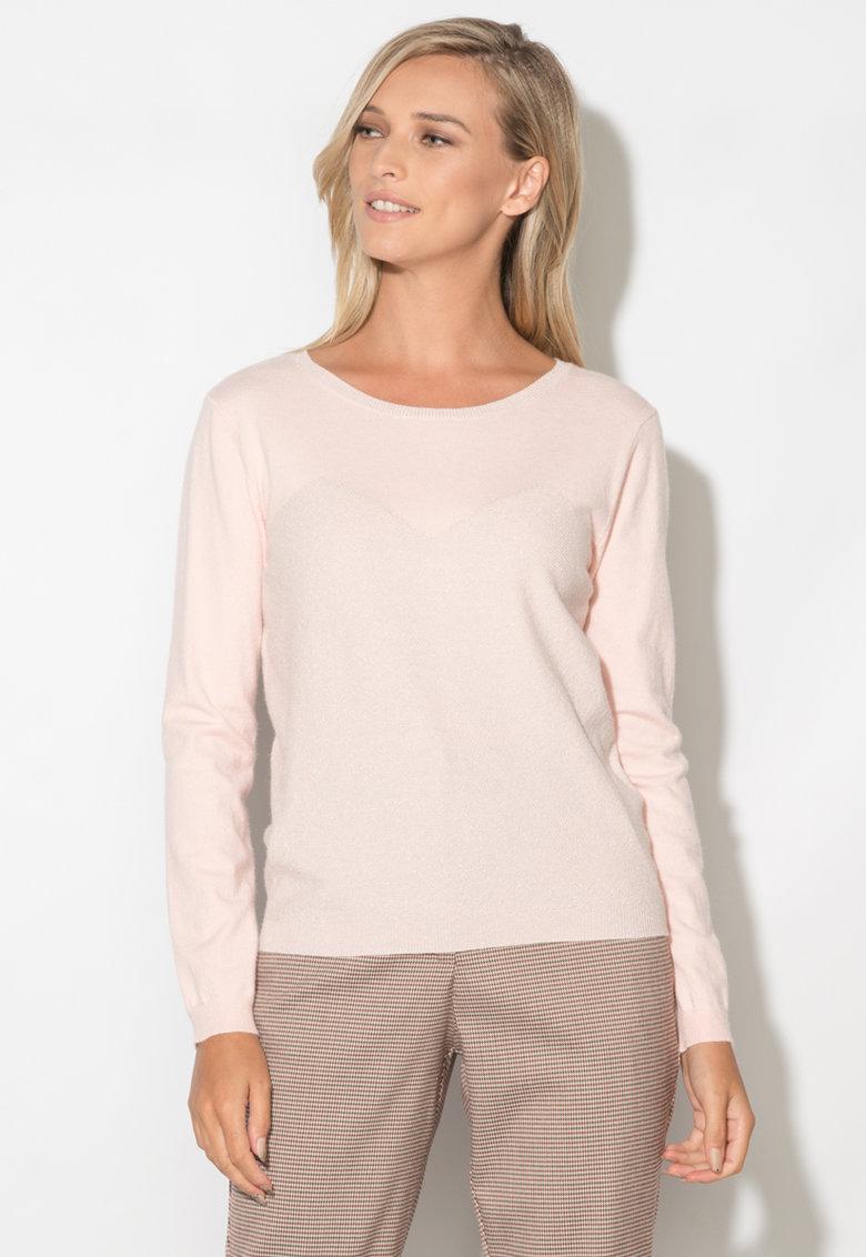Zee Lane Bluza tricotata fin cu aplicatii stralucitoare