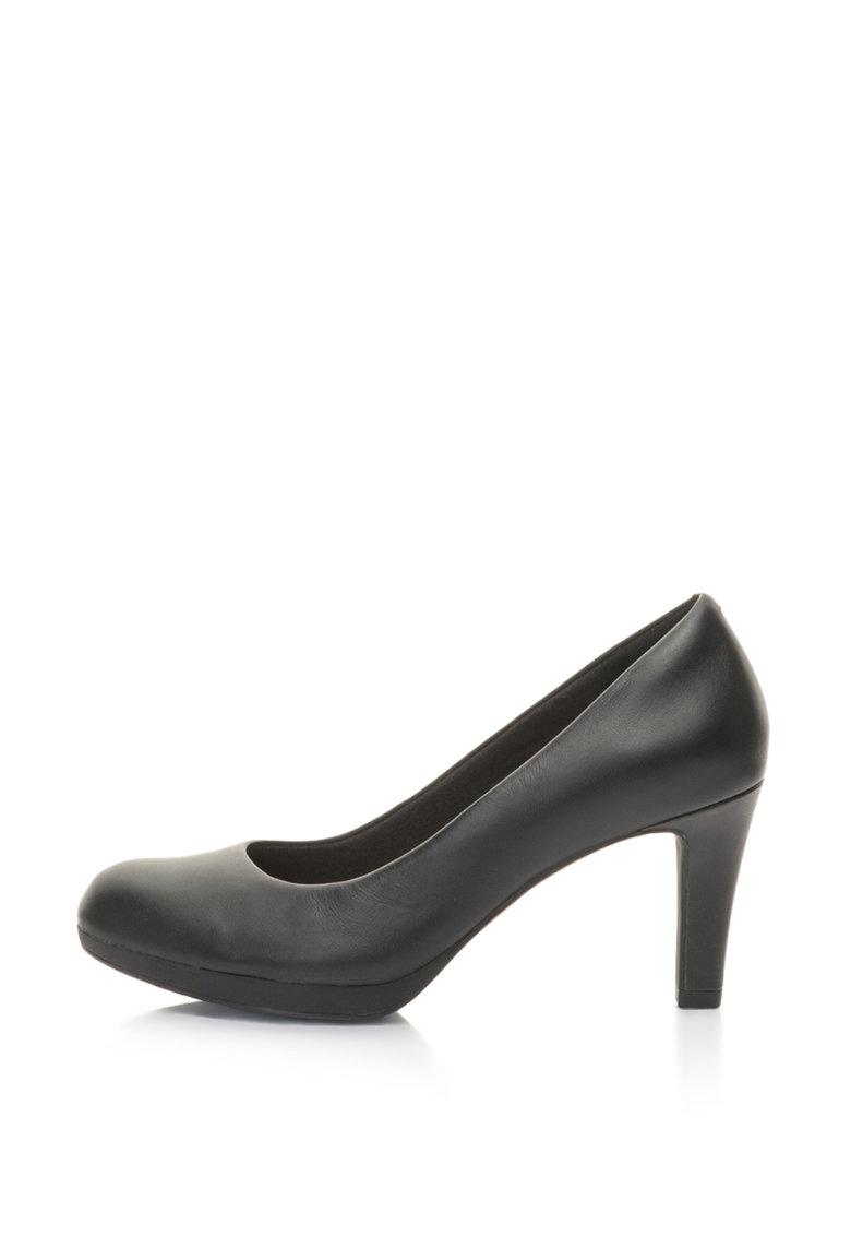 Pantofi cu toc Adriel-Viola de la Clarks ADRIEL-VIOLA-BLACK-LEATHER