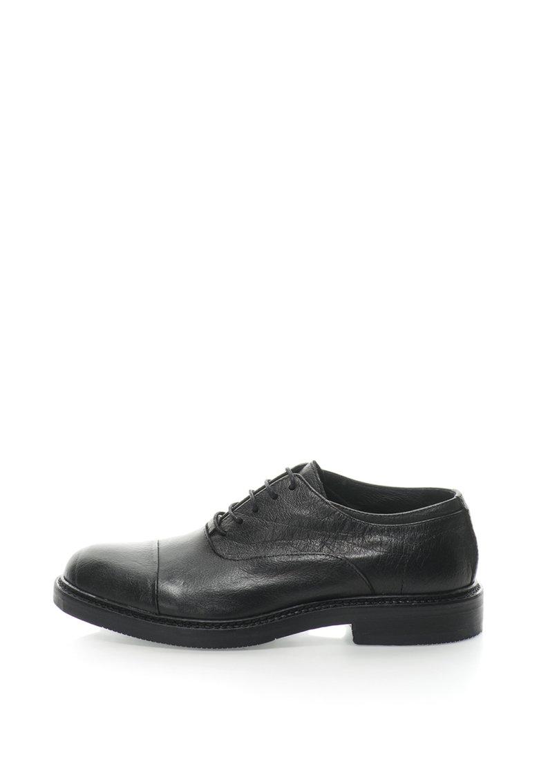 Pantofi Oxford de piele