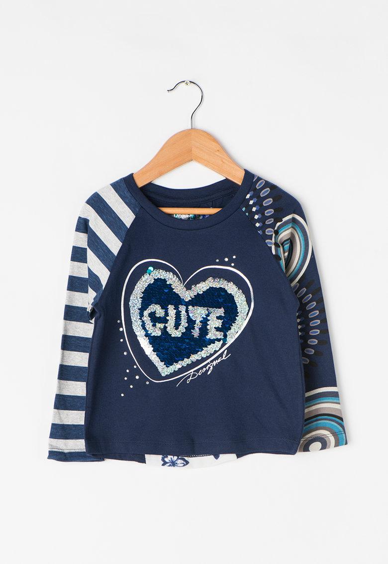 DESIGUAL Bluza cu paiete reversibile Saskatchewan