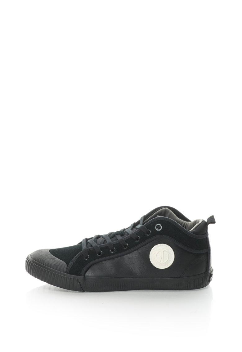 Pepe Jeans Pantofi sport cu garnituri de piele Industry