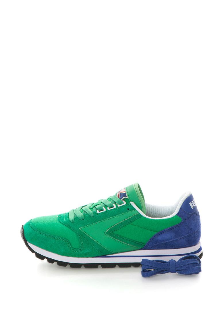 Pantofi sport cu insertii de piele Chariot de la Brooks – 110178-1D-343