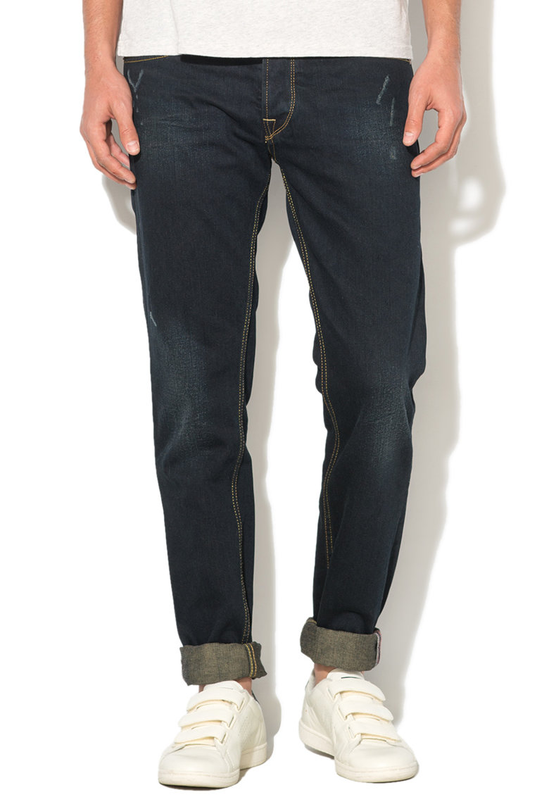 Pepe Jeans London Blugi regular cu 5 buzunare Batten