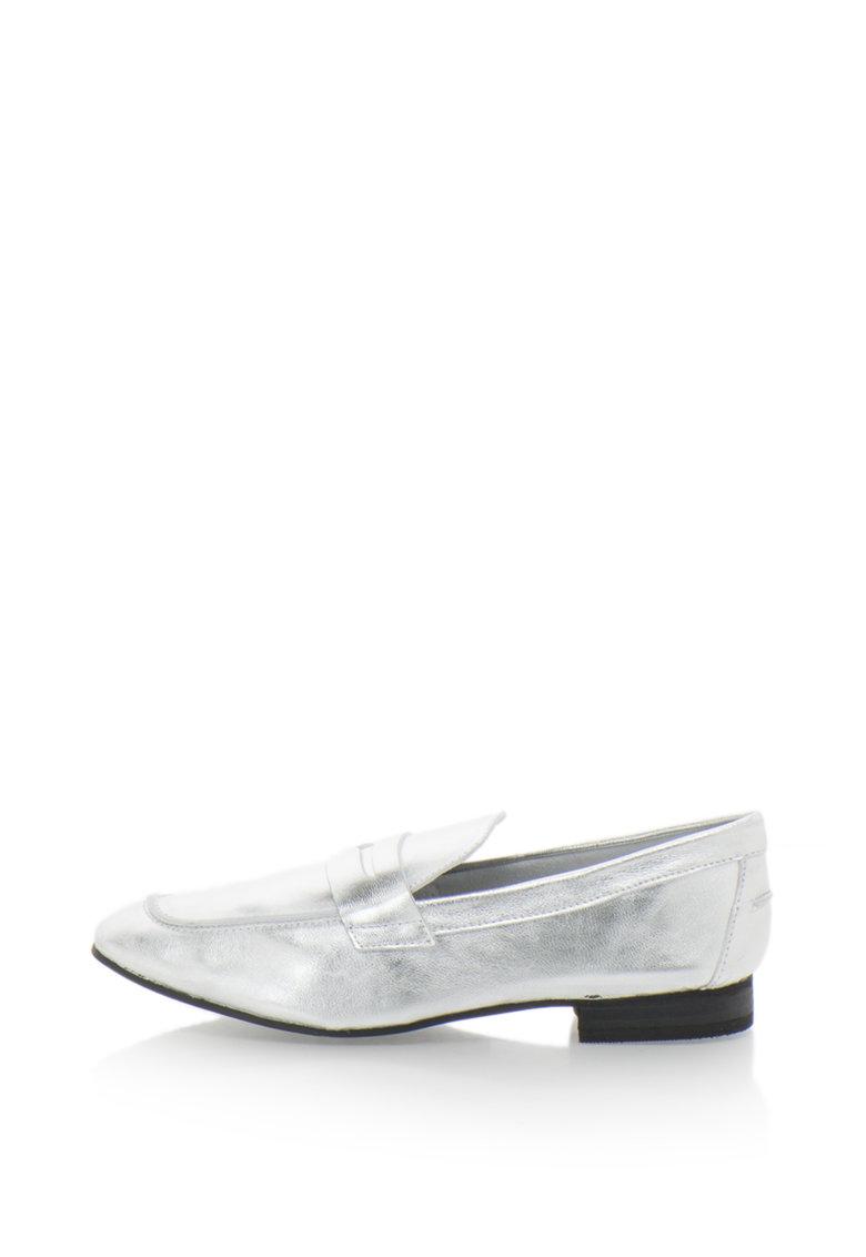 Pantofi loafer de piele
