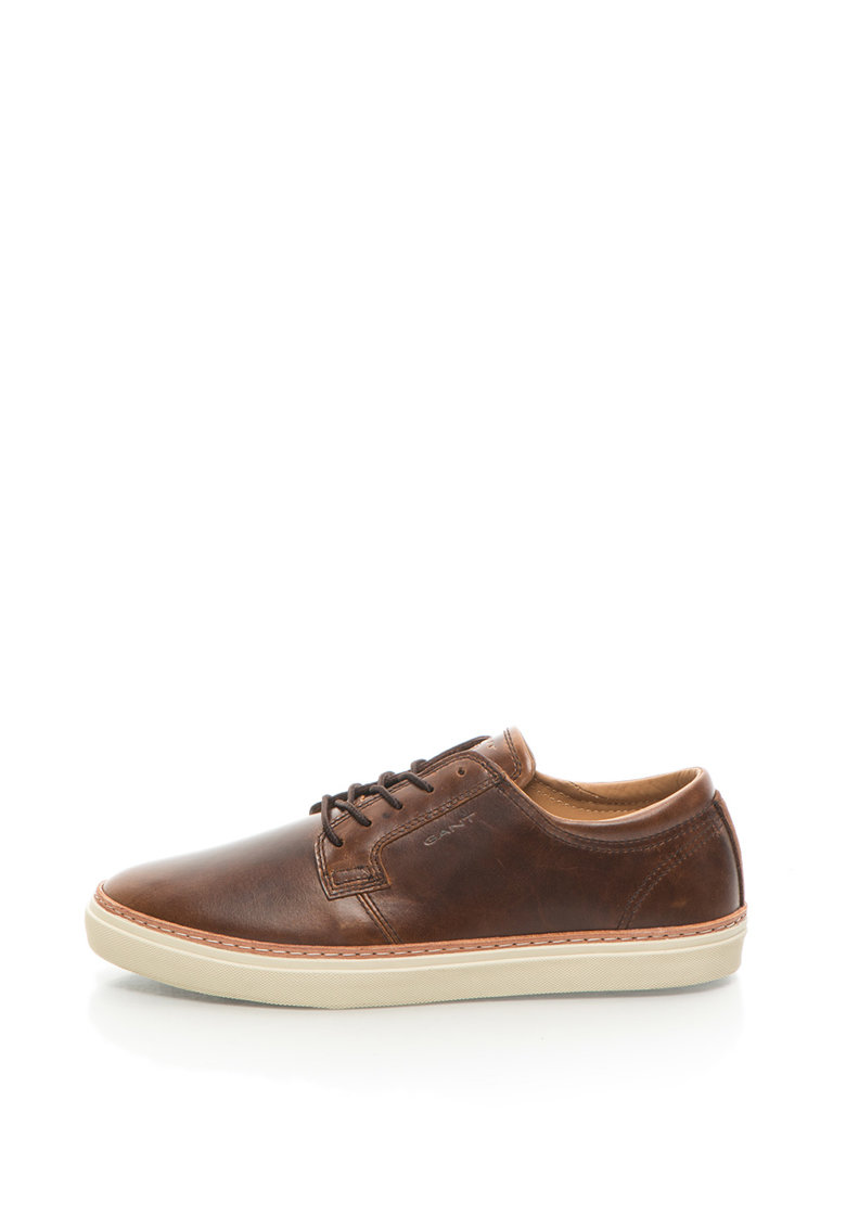 Pantofi Casual De Piele Si Piele Intoarsa Bari