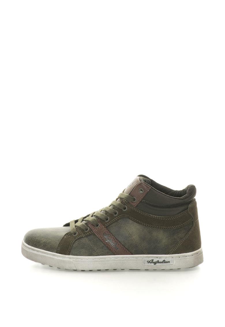 Australian Pantofi sport mid-high cu insertii de piele intoarsa