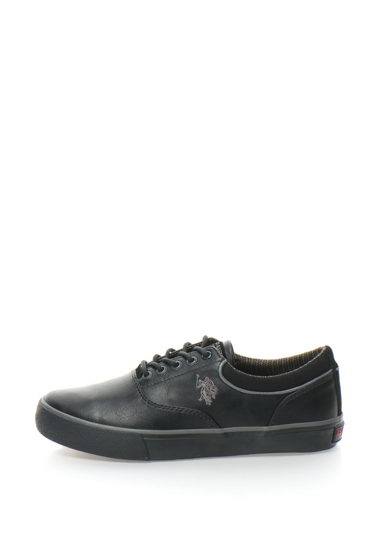 US Polo Assn Pantofi sport cu garnitura de fetru Sterling