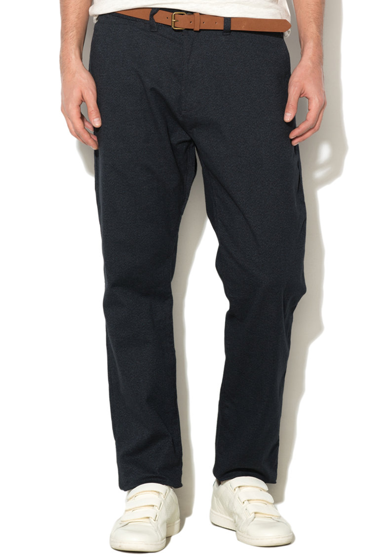 Pantaloni Chino Slim Fit Cu O Curea
