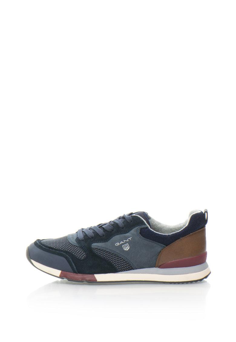 Pantofi Sport De Piele Intoarsa Si Piele Russell