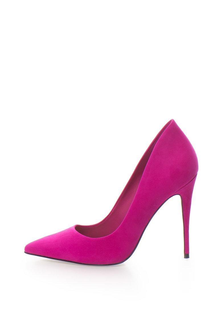 Pantofi stiletto de piele intoarsa Cassedy de la Aldo