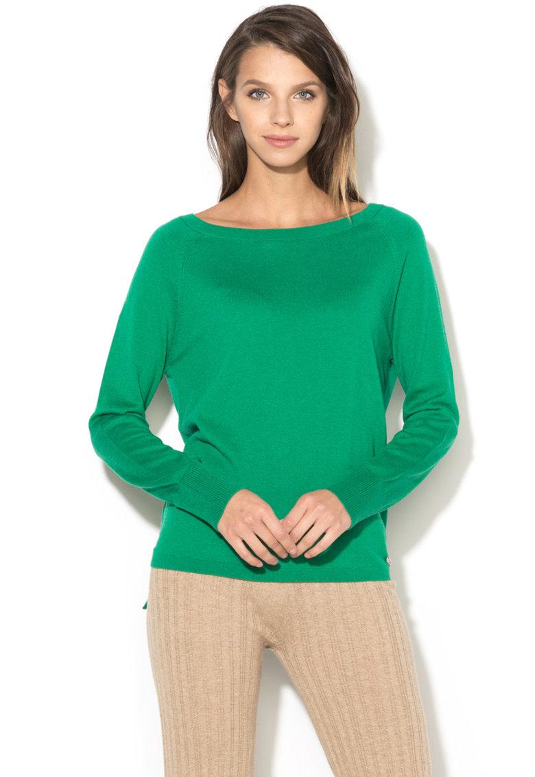 United Colors of Benetton Bluza cu slituri laterale