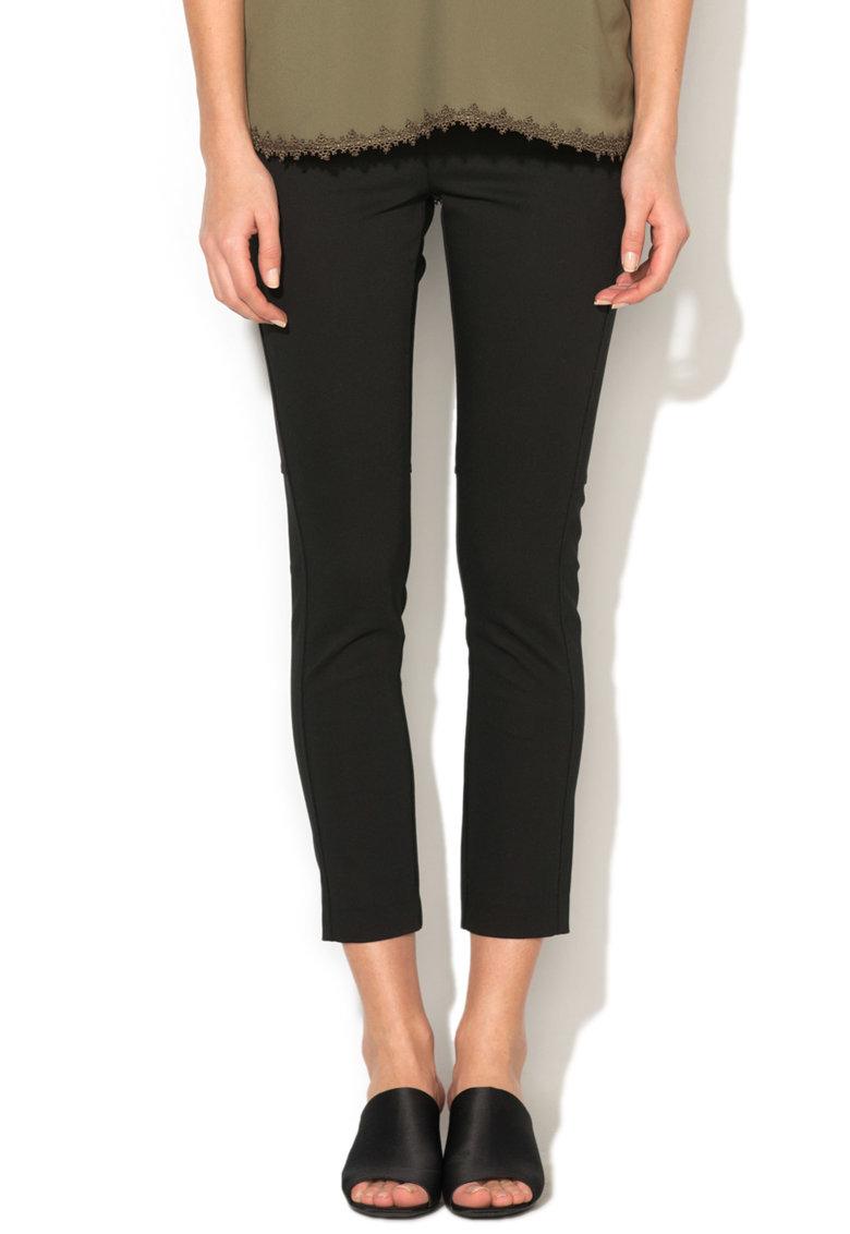 Pantaloni crop elastici