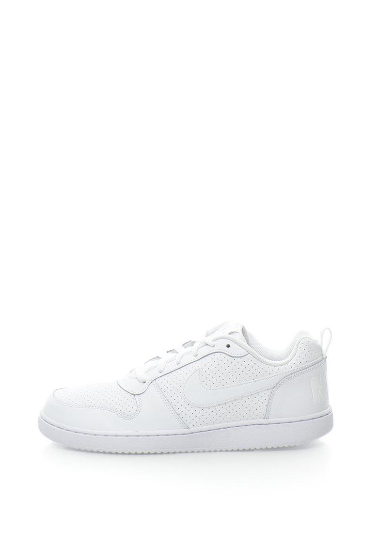 Nike Pantofi sport cu garnituri de piele nabuc Court Borough