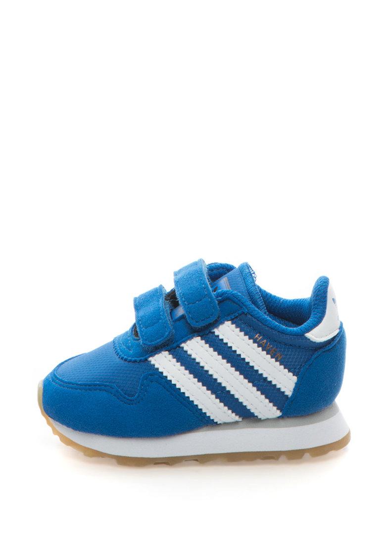 Adidas ORIGINALS Pantofi sport cu garnituri de piele intoarsa sintetica Haven