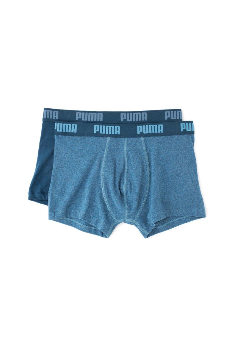 Puma Boxeri cu banda cu logo – 2 perechi 521025001