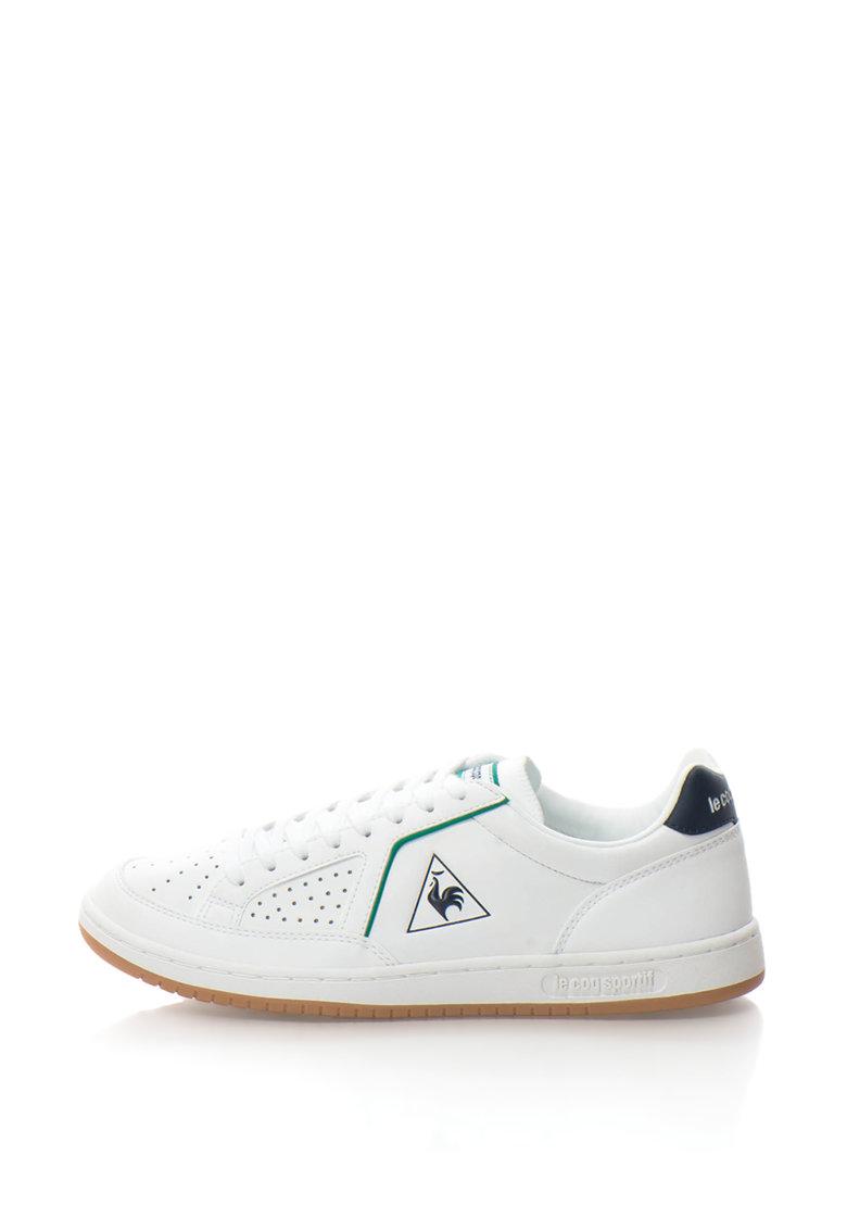 Le Coq Sportif Pantofi sport de piele cu perforatii pe varf ICONS