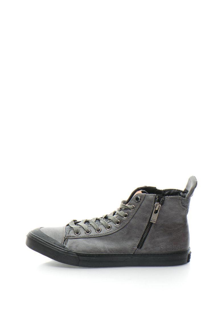 Pantofi Sport Mid-high Cu Fermoare Laterale