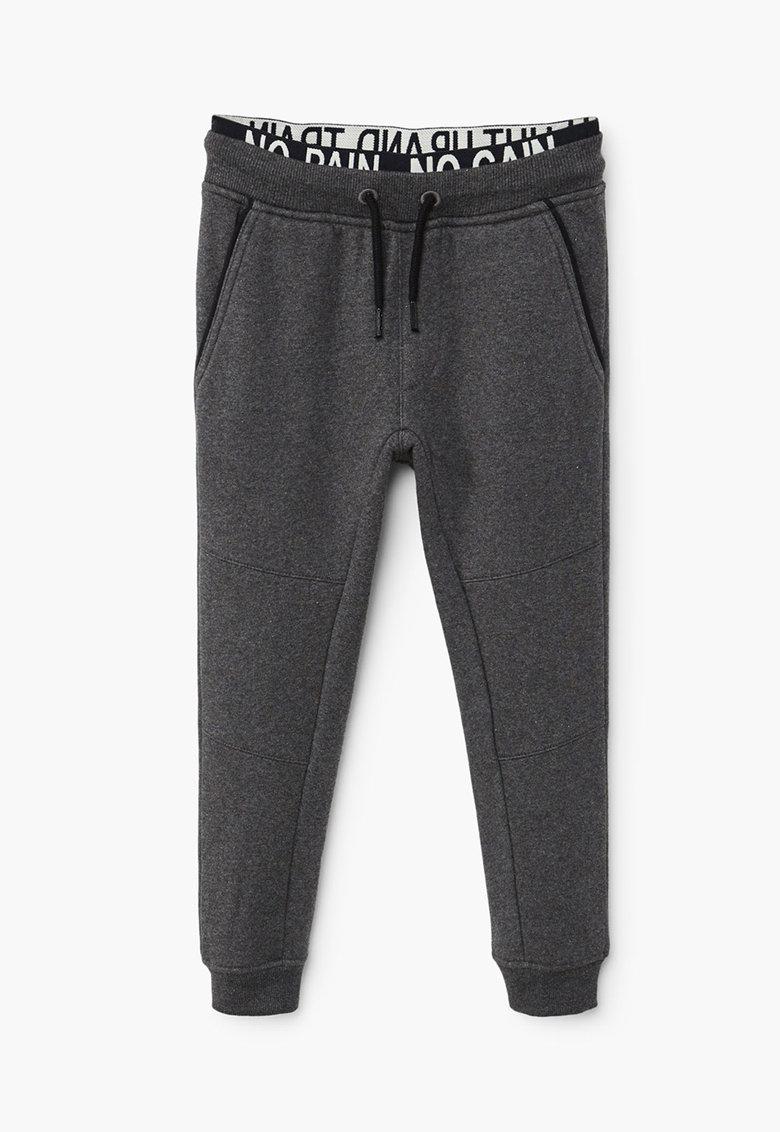 Pantaloni sport cu snur pentru ajustare si banda elastica in talie de la Mango