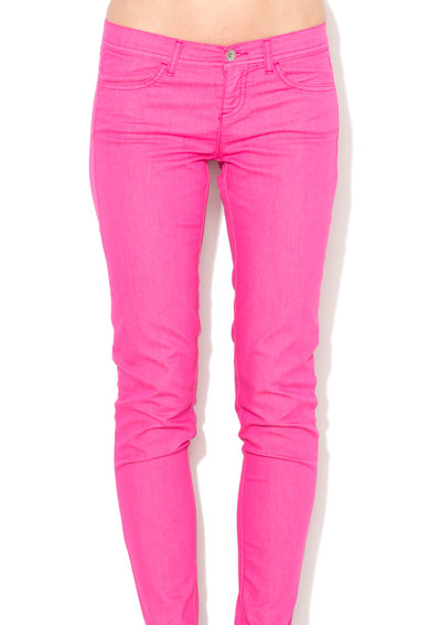United Colors Of Benetton Jeansi skinny roz bombon Femei
