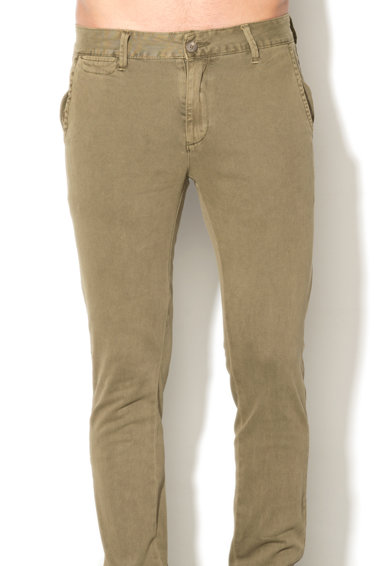 Zee Lane Denim Pantaloni chino kaki Barbati