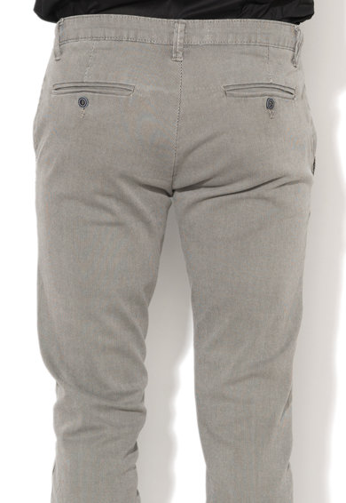 Zee Lane Denim Pantaloni chino in dungi Barbati