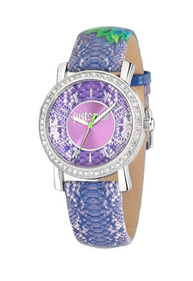 FashionDays.ro: Ceas purpuriu din piele Paradise Just Cavalli