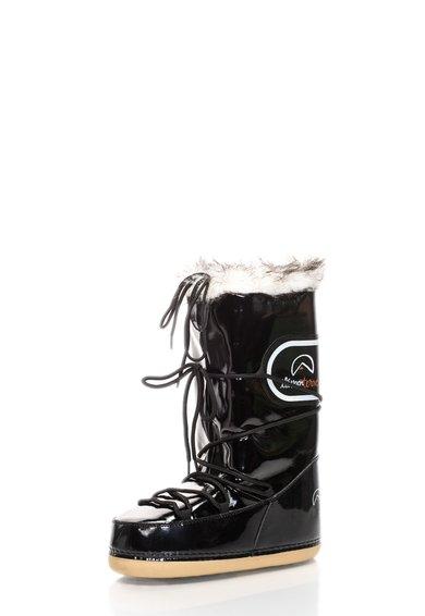 FashionDays.ro: Cizme apres-ski negre lacuite Snoboo elementerre
