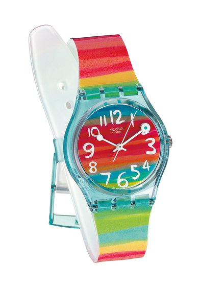 Ceas Swatch Color The Sky Strap de la Swatch