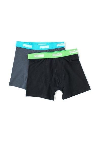Set de boxeri negru cu gri inchis – 2 perechi Puma