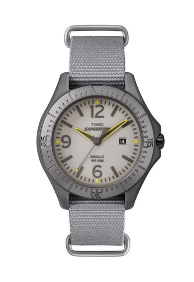 Timex Ceas gri Expedition Camper