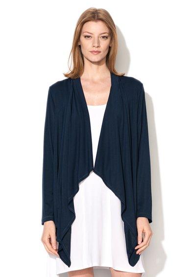 DKNY Cardigan asimetric bleumarin City Socialite